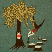 Image of Lumberjack vs Tree T-shirt