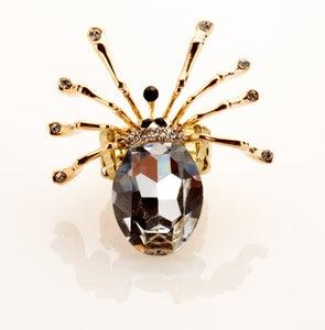Image of Fierce and Huge Swarovski Crystal Stunging ring