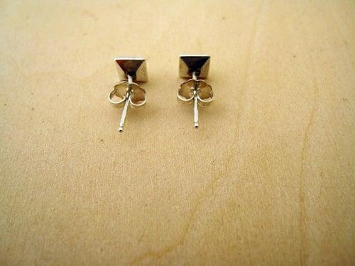 Image of PYRAMID stud earrings