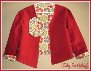 Image of The Sweetheart Jacket. Size 3/4 Eisley Rae