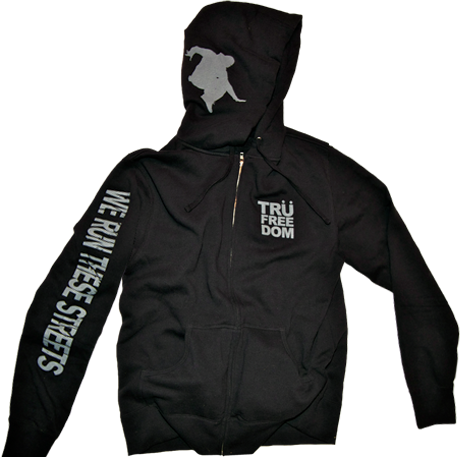 Image of We Run These Streets Hoodie (Black)