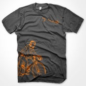 Image of My Machete Cyclist T-Shirt (Grey)