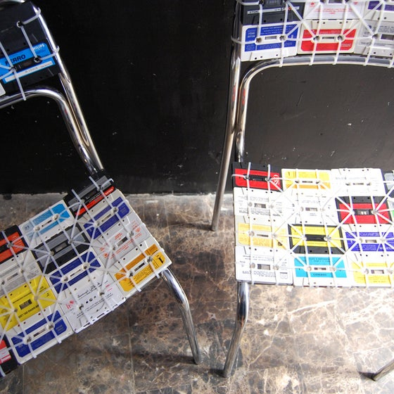 Image of NOSTALGIC CHAIR/SILLA CASSETTE