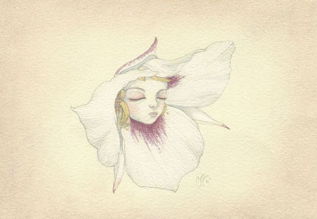 Image of Sego Lily mini print