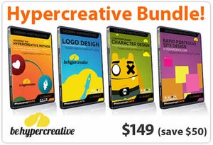Image of Hypercreative Bundle | Get all 4 dvd's in one complete package