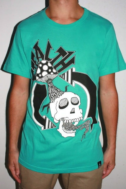 Image of Creative Cycle Tee Toothpaste Teal