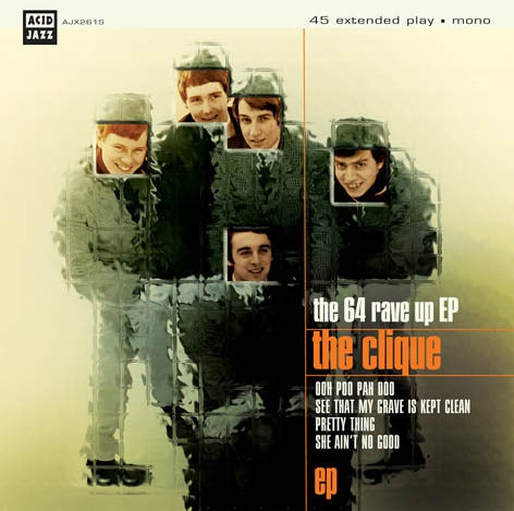 """Image of The Clique - The '64 Rave Up EP 7"""""""