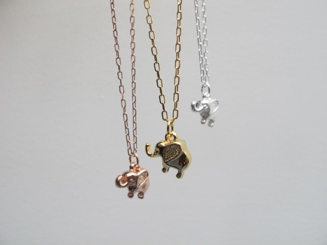 Image of LULU ELEPHANT NECKLACE