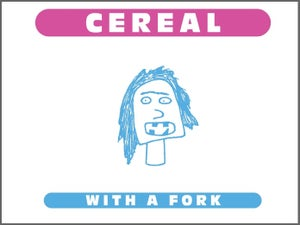 Image of Cereal with a Fork
