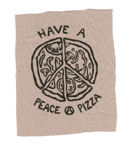 Image of Peace a Pizza Patch