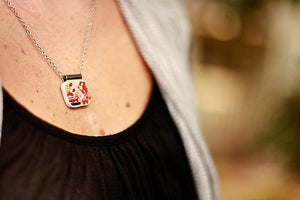 Image of Red Willow Necklace