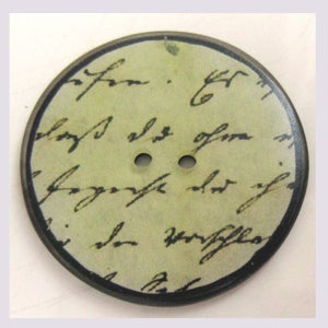 Image of Bouton: calligraphie