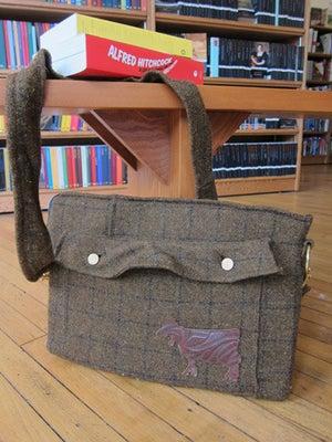 Image of Brown Men's Coat Computer Bag