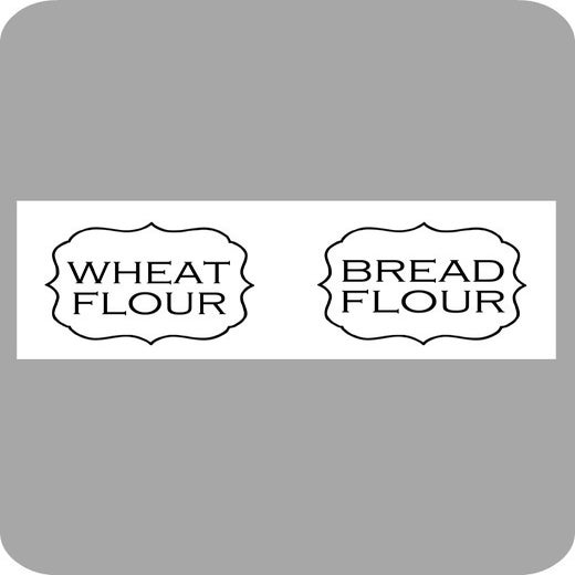 Image of Additional Flour Labels