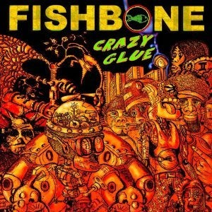 "Image of Fishbone ""Crazy Glue"" EP"