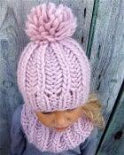 "Image of Kit tricot bonnet ""Sacha"""