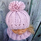 "Image of Kit tricot bonnet ""Sacha"""
