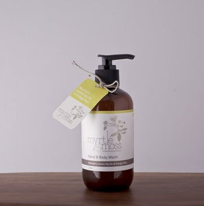 Image of Hand & Body Wash - Mandarin, Lemon Myrtle & Orange Peel - 250ml