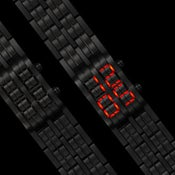 Image of Too Late 'black' Neo Watch