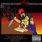 Image of The DRP - Underground Kills Corporate (LP) - 2008