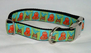 Image of Harvest Squares Dog Collar in the category  on Uncommon Paws.