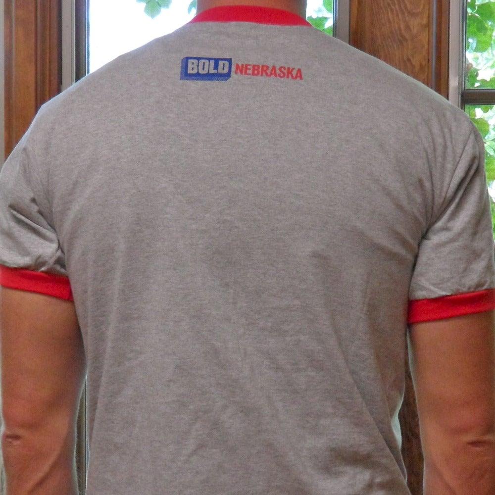 "Image of ""Progressive. Independent. Bold. Nebraskan."" Shirt"
