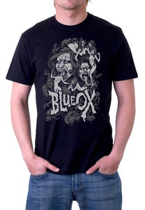 Image of Blue Ox Zombie Ladies T Shirt
