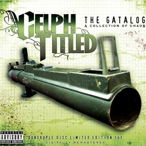 Image of Celph Titled - The Gatalog: A Collection of Chaos 4CD
