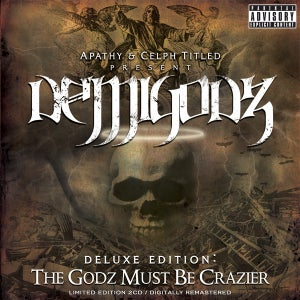Image of Demigodz - The Godz Must Be Crazier 2CD
