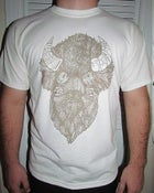 Image of Buffalo Season Bailey Layne Shirt (GOLD on Natural)