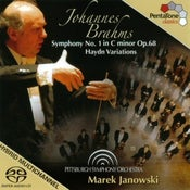 Image of Johannes Brahms Symphony No.1 in C minor Op.68 Haydn Variations
