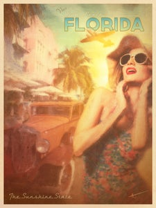 Image of The Sunshine State   Travel Posters