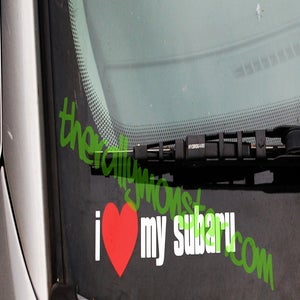 Image of I Heart My Subaru Sticker