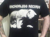 Image of NEW!!! Anchorless Metal Cat T-shirt