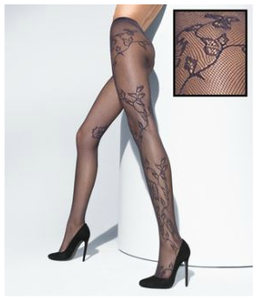 Image of Sexy Wexy! Uber-soft stretch fiber fishnet stockings caress