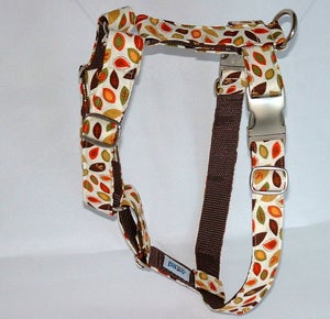 Image of Falling Leaves Dog Harness in the category  on Uncommon Paws.