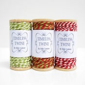 Image of Christmas Bakers Twine Large Party Pack by Timeless Twine
