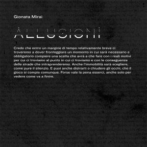 Image of Gionata Mirai - Allusioni