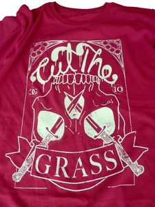 Image of Casual Ghosts - 'Cut The Grass' Red