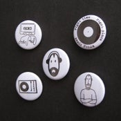 Image of John Peel badges