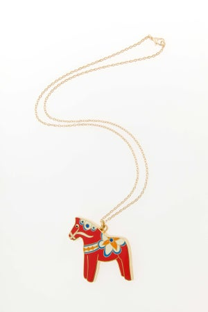 Image of 50% reduced! Dala Horse Necklace