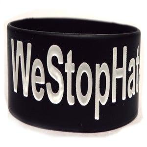 Image of We Stop Hate - Black & White (2 PACK)