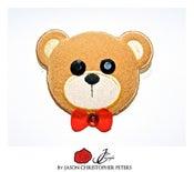Image of *LIMITED EDITION* Swarovski Plush Bear Pin IS BACK!!!!
