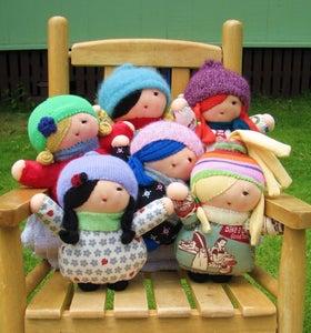 Image of Handmade Custom Little Girl Friend Doll