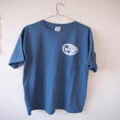 Image of Blue Sketch Logo Shirt