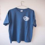 Image of Blue Sketch Logo Shirt