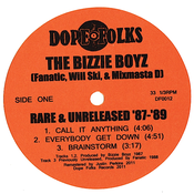 Image of THE BIZZIE BOYZ: RARE AND UNRELEASED '87-'89 ***SOLD OUT***