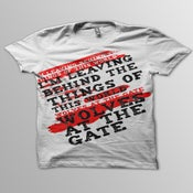 "Image of ""I'm Leaving Behind..."" Lyric Shirt"