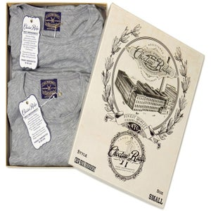 Image of Grey Crew Neck Undershirt (2 Pack)