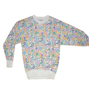 Image of Keith Haring Inspired Sweatshirt
